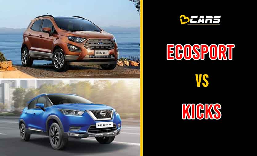 2020 Ford EcoSport vs Nissan Kicks
