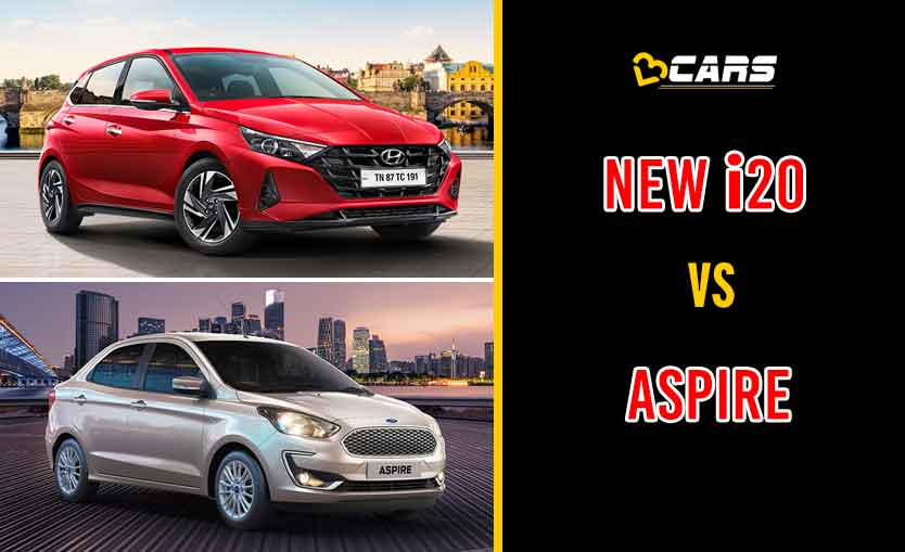 New Hyundai i20 vs Ford Aspire
