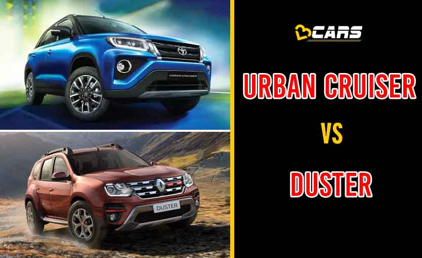 2020 Toyota Urban Cruiser vs Renault Duster