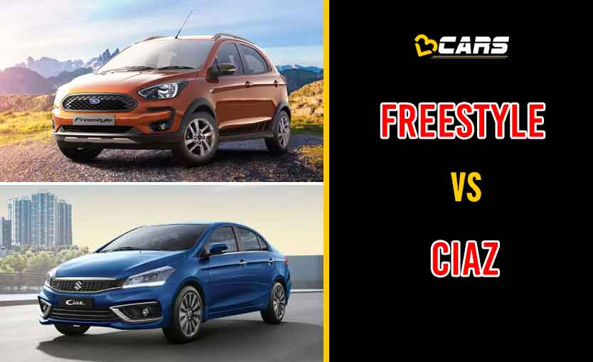 2020 Ford Freestyle vs Maruti Suzuki Ciaz