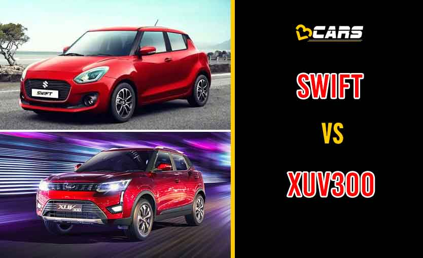 2020 Maruti Suzuki Swift vs Mahindra XUV300