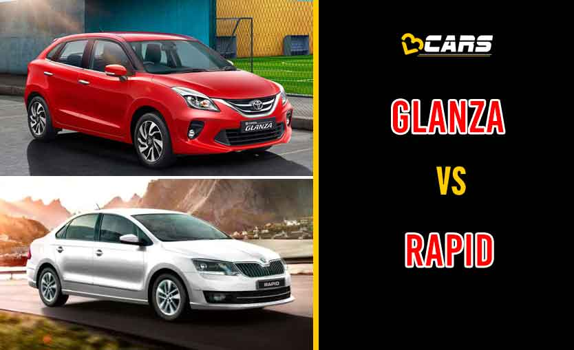 2020 Toyota Glanza vs Skoda Rapid
