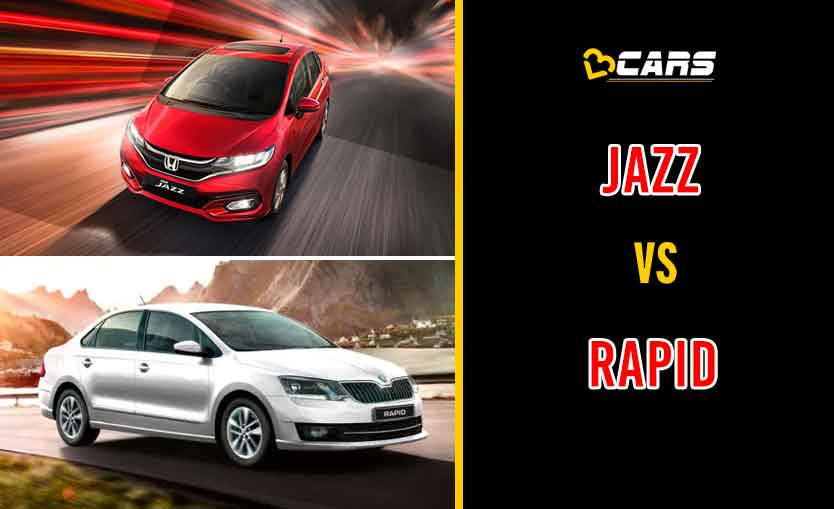 2020 Honda Jazz vs Skoda Rapid