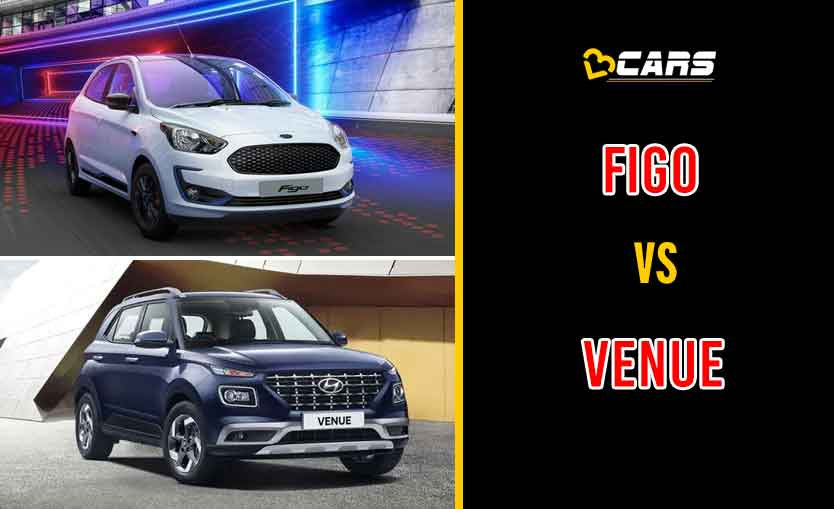 2020 Ford Figo vs Hyundai Venue