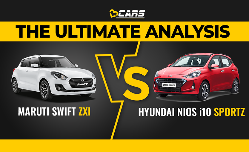 Swift ZXI vs Grand i10 Nios Sportz