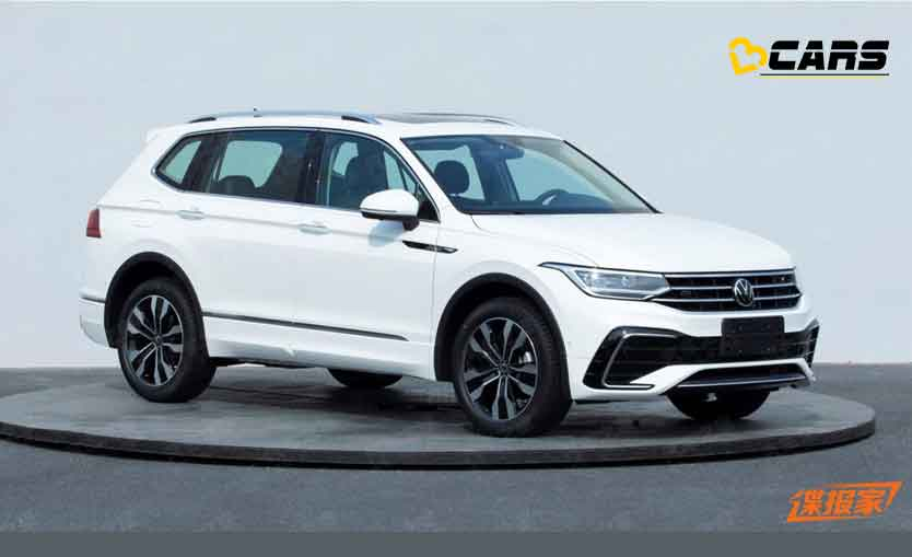2021 Volkswagen Tiguan Allspace Facelift To Be Unveiled On ...