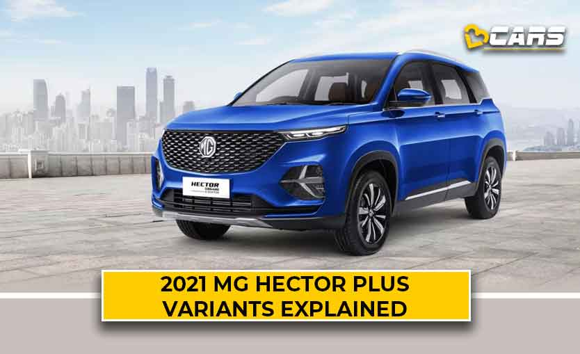 2021 MG Hector Plus