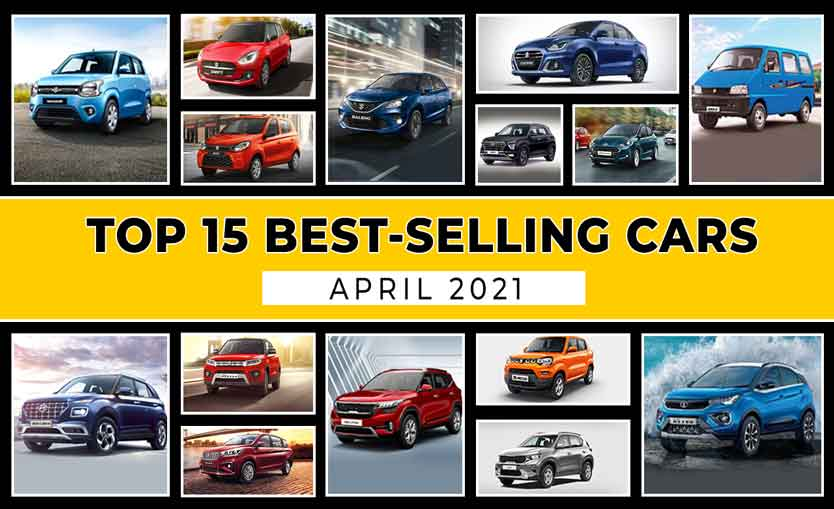 Top 15 Most Popular & Best Selling Cars